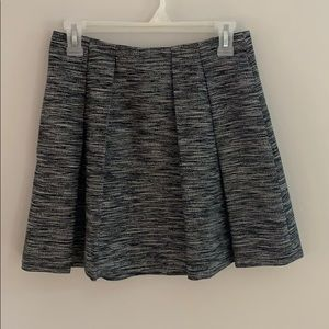 Madewell Countdown pleated, A-line skirt.  Size 0